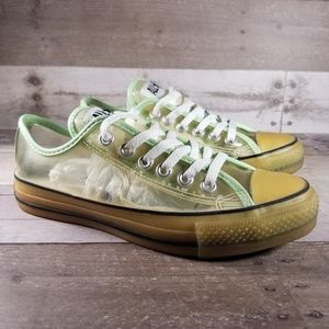 Glow In The Dark Converse Low Tops